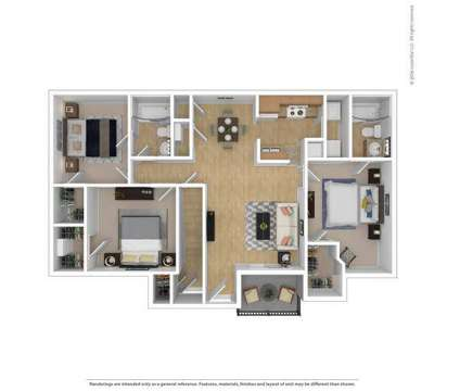 3 Beds - Bridgewater on the Lake at 900 Lake Ridge Rd in Hampton VA is a Apartment