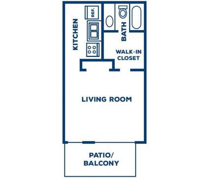 Studio - The Park at Callington and Carlyle at 200 Robert Jemison Rd in Birmingham AL is a Apartment