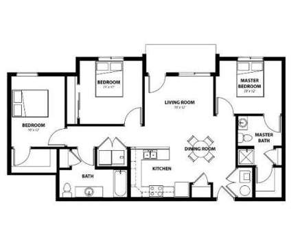 3 Beds - Legacy Landing at 2701 Cedar St in Norwalk IA is a Apartment