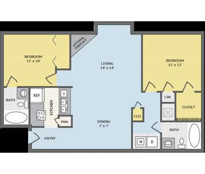 2 Beds - Colonial Village at West End at 4008 Gaelic Ln in Glen Allen VA is a Apartment
