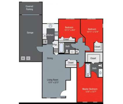 3 Beds - Floresta at 400 Via Royale in Jupiter FL is a Apartment