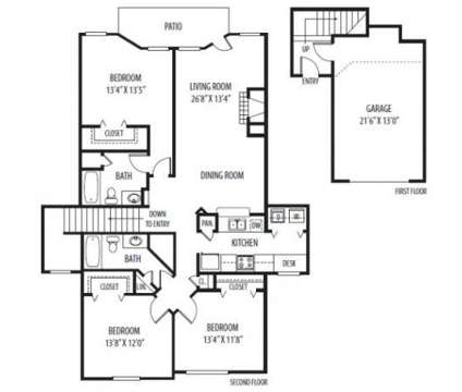 3 Beds - Stratford Green Apartment Homes at 492 Vinings Dr in Bloomingdale IL is a Apartment