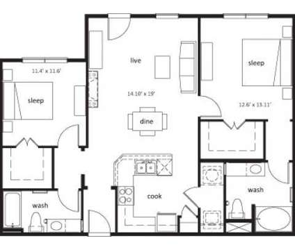 2 Beds - Nexus at Orenco Station at 1299 Ne Orenco Station Parkway in Hillsboro OR is a Apartment