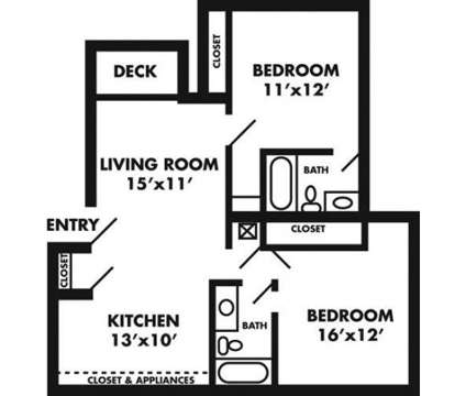 2 Beds - The Rockland at 1301 W 24th St in Lawrence KS is a Apartment