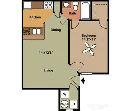 1 Bed - Willow Run Apartments at 517 Douglas Ln in Clinton TN is a Apartment