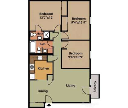 3 Beds - Willow Run Apartments at 517 Douglas Ln in Clinton TN is a Apartment