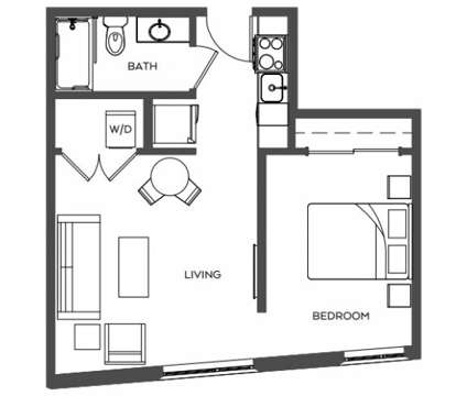 1 Bed - TreeHouse at 3440 Sw Us Veterans Hospital Road in Portland OR is a Apartment