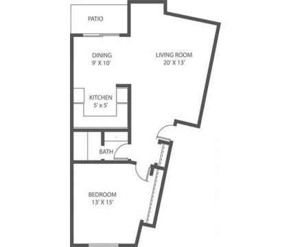 1 Bed - Woodridge Apartments & Townhomes at 12400 W Euclid Avenue #1 in New Berlin WI is a Apartment
