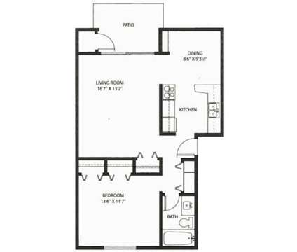 1 Bed - Whitnall Gardens Apartments at 9571 W Forest Home Avenue in Hales Corners WI is a Apartment