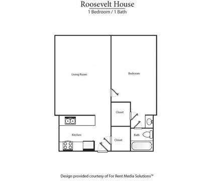 1 Bed - Roosevelt House Senior Apartments - Newly Renovated at 2920 Yale Place in Owensboro KY is a Apartment