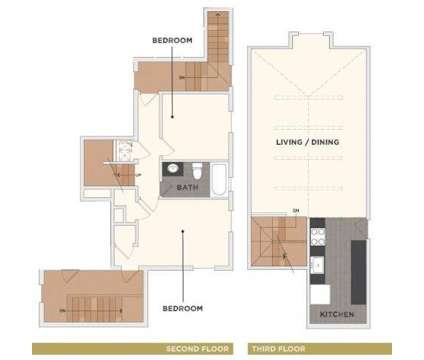 2 Beds - The Flats on Howard at 2211 Howard St Suite 101 in Omaha NE is a Apartment