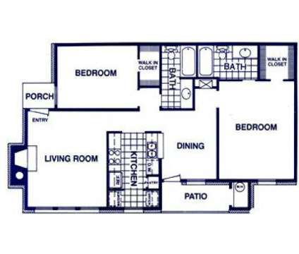 2 Beds - Meadows on Blue Bell at 1400 Blue Bell in Houston TX is a Apartment