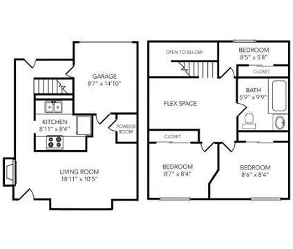 3 Beds - Country Club on 6th at 2500 West 6th St in Lawrence KS is a Apartment