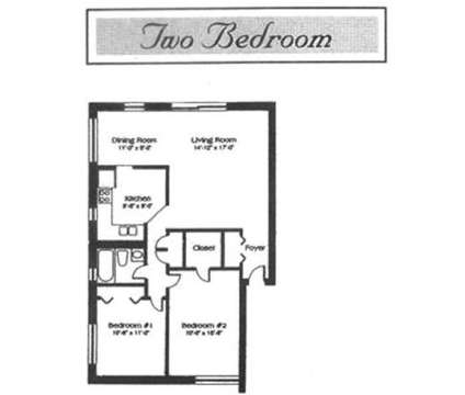 2 Beds - Amber Manor at 807-833 Ridge Dr in Dekalb IL is a Apartment