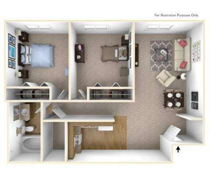 2 Beds - Gray's Lake Apartments at 2800 Fleur Drive in Des Moines IA is a Apartment