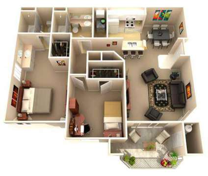 2 Beds - Rolling Oaks Apartments at 3700 Lyon Road in Fairfield CA is a Apartment