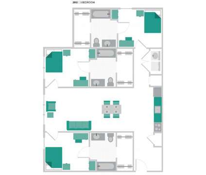 3 Beds - The Verge Las Cruces at E 320 Union Avenue in Las Cruces NM is a Apartment