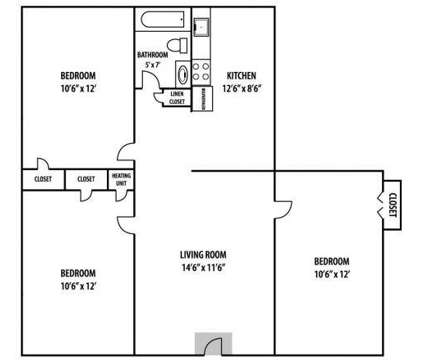 3 Beds - Village West Apartments at 4404 Tennessee Avenue in Nashville TN is a Apartment