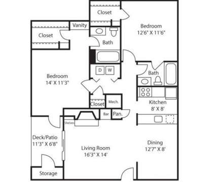 2 Beds - Cherry Knoll at 18832 Bent Willow Circle in Germantown MD is a Apartment