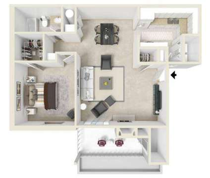 1 Bed - The Mark at 3315 North Hills St in Meridian MS is a Apartment
