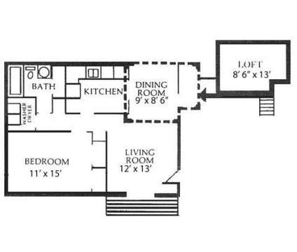 1 Bed - Partridge Meadows at 8102 Four Winds Dr in Louisville KY is a Apartment