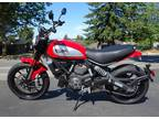2015 Ducati Scrambler ICON RED