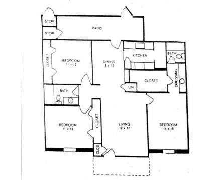 3 Beds - Whispering Pines at 4444 Mission Drive in Indianapolis IN is a Apartment