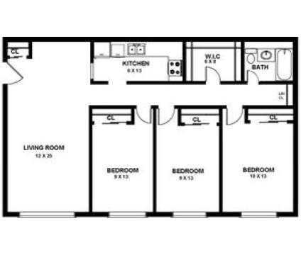 3 Beds - Davis Commons at 165 Carl Avenue in Brockton MA is a Apartment