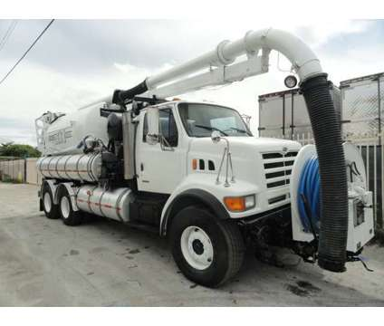 1999 Sterling LT9501 Vactor 2110 VACUUM/JETTER COMBO is a 1999 Sterling Lt9500 Commercial Trucks & Trailer in Miami FL