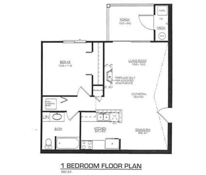1 Bed - Landing Place Apartments at 4453 Walma Southeast in Kentwood MI is a Apartment