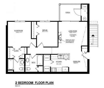 2 Beds - Landing Place Apartments at 4453 Walma Southeast in Kentwood MI is a Apartment