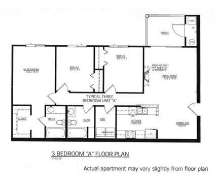 3 Beds - Landing Place Apartments at 4453 Walma Southeast in Kentwood MI is a Apartment