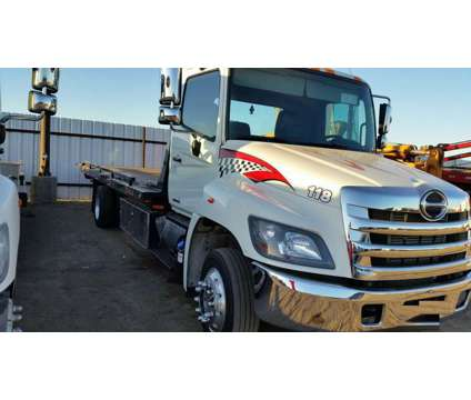 118 2014 Hino 258 ALP 22' Steel Jerr-Dan Flatbed is a 2014 Hino Auto Carrier Truck in Amarillo TX