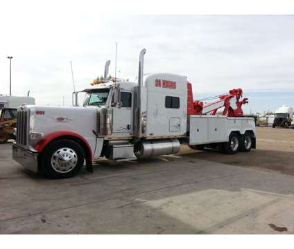 #601 2011 Pete 389 with a 2014 35 ton Heavy Wrecker is a 2011 Auto Carrier Truck in Amarillo TX