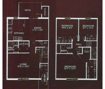 3 Beds - Stafford Pointe at 800 Southfield Dr in Plainfield IN is a Apartment