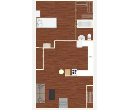 1 Bed - Knights Landing Apartments at 2036 N Walnut St in Bloomington IN is a Apartment