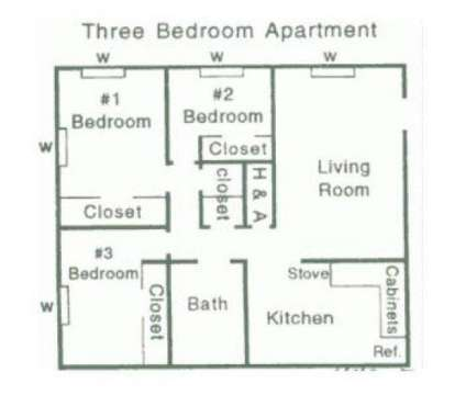 3 Beds - Briarcliff South at 3630 Rainey Road in Jackson MS is a Apartment