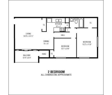 2 Beds - The Fountain Club at 7604 Fontainebleau Dr in New Carrollton MD is a Apartment