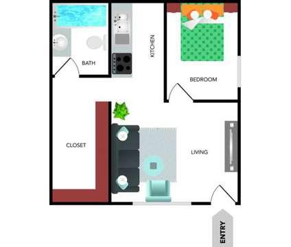 1 Bed - Las Brisas at 2001 N Rancho Avenue in Colton CA is a Apartment