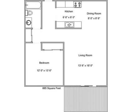 1 Bed - Parkview Estates at 1430 100th Ave Nw in Coon Rapids MN is a Apartment
