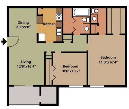 2 Beds - The Colony at 2008 Mebane St South in Burlington NC is a Apartment