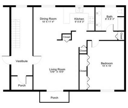 1 Bed - Rivercrest Arms at 23560 Denton in Clinton Township MI is a Apartment