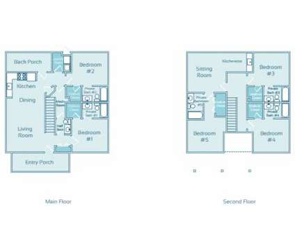 5 Beds - The Enclave at GVSU Student Living at 4926 Becker Dr in Allendale MI is a Apartment