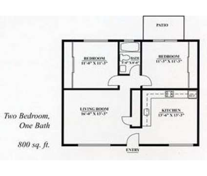 2 Beds - Garden Court at 557 559 Buena Vista Avenue in Alameda CA is a Apartment