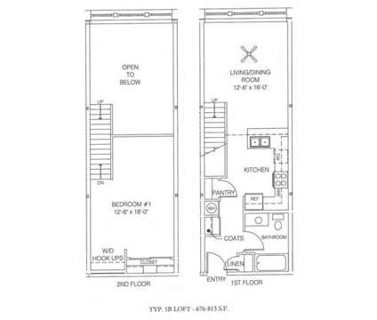 1 Bed - Englewood Lofts at 1249 N Alabama in Indianapolis IN is a Apartment