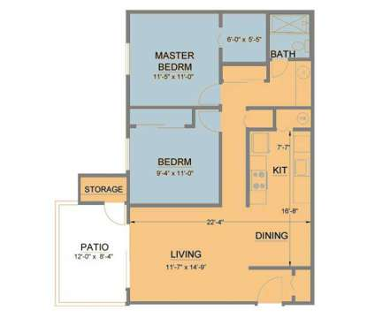 2 Beds - Legacy Park Apartments at 8079 Sunrise East Way in Citrus Heights CA is a Apartment