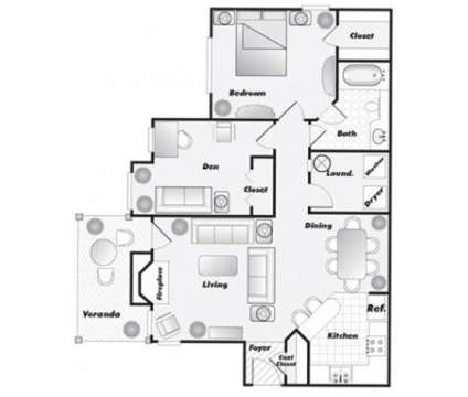 1 Bed - The Crest at Berkeley Lake at 3575 Peachtree Industrial Boulevard in Duluth GA is a Apartment