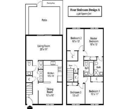 4 Beds - Braeburn Village Apartments & Townhomes of Indianapolis at 2170 Braeburn East Dr in Indianapolis IN is a Apartment