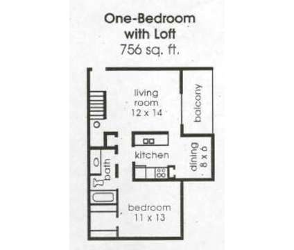 1 Bed - Salem at 56 at 7007 Courthouse Drive in Indianapolis IN is a Apartment