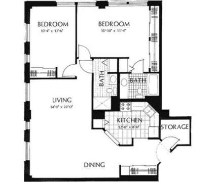 2 Beds - Hawthorne Terrace at 7700 W Portland Avenue in Wauwatosa WI is a Apartment